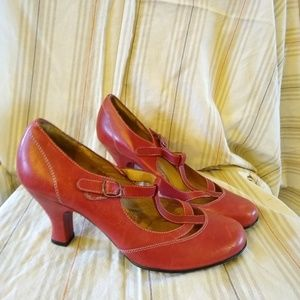 Sofft red heels